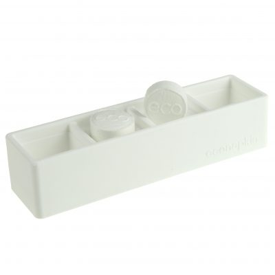 white compressed napkin holder