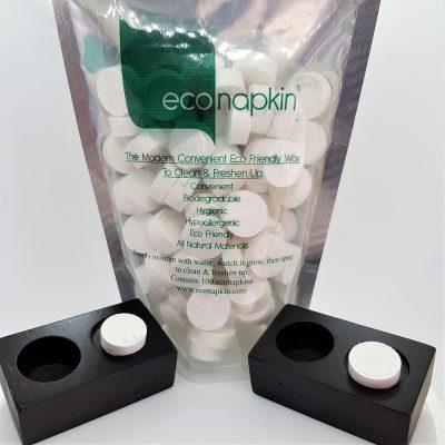 econapkin compressed napkin